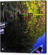 The Black Lagoon Acrylic Print