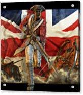 The Black Loyalist Acrylic Print by Kurt Miller