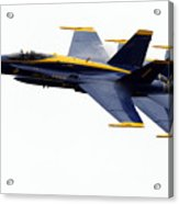 the Blue Angels leads the diamond in the Echelon Acrylic Print