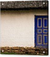 The Blue Door Acrylic Print