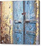 The Blue Doors Nubian Village Acrylic Print
