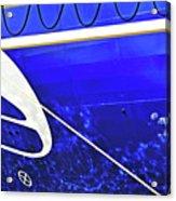 The Blue Ferry Acrylic Print