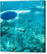 The Blue Hole Acrylic Print