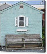 The Blue House Acrylic Print