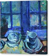 The Blue Kitchen Acrylic Print