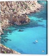 The Blue Lagoon Acrylic Print