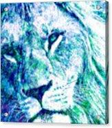 The Blue Lion Acrylic Print