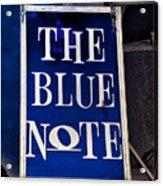 The Blue Note - Bourbon Street Acrylic Print
