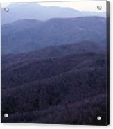 The Blue Ridge Acrylic Print