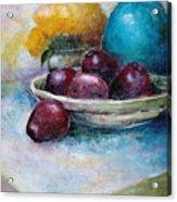 The Blue Vase Iv Acrylic Print