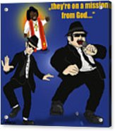 The Blues Brothers Acrylic Print