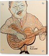 The Blues Man  Acrylic Print