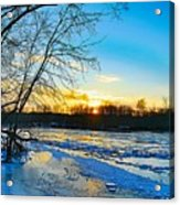 The Blues Of Winter Acrylic Print