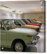 The Bmw Line Up Acrylic Print