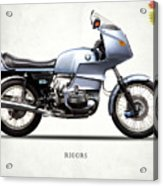 The R100rs Motorcycle 1977 Acrylic Print