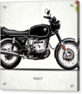 The R80 Motorcycle 1978 Acrylic Print