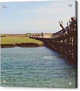 The Boardwalk Leap Acrylic Print