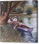 The Boating Men Acrylic Print