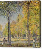 The Bois De Boulogne Acrylic Print