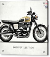 The Bonneville T100 Acrylic Print