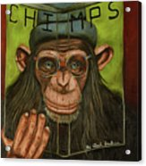 The Book Of Chimps Acrylic Print