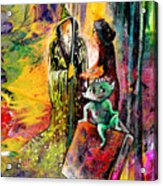 The Book Of Magic Acrylic Print