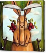 The Book Of Secrets 4-the Rabbit Story Acrylic Print