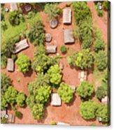 The Border Town Village Of Bangassou Acrylic Print