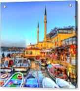 The Bosphorus Istanbul Acrylic Print