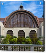 The Botanical Building Acrylic Print