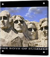 The Boys Of Summer Acrylic Print