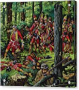 The Braddock Massacre Acrylic Print