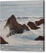 The Breakers At Seal Rock II Acrylic Print