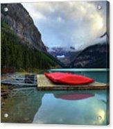 The Breathtakingly Beautiful Lake Louise IIi Acrylic Print