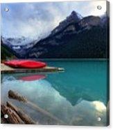 The Breathtakingly Beautiful Lake Louise Iv Acrylic Print