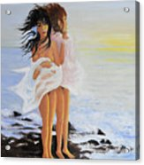 The Breeze - La Brezza Acrylic Print