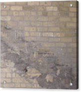 The Brick Wall - Historic Bldg Acrylic Print