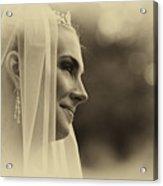 The Bride Example Acrylic Print