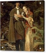 The Bride Of Lammermoor Acrylic Print