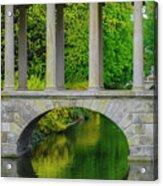 The Bridge Across The Pond Acrylic Print