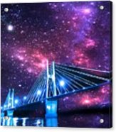 The Bridge Between Two Worlds Acrylic Print