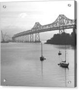 The Bridge Is Coming Acrylic Print