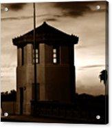 The Bridge Tenders Box Circa1926 Acrylic Print