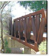 The Bridge To Home Acrylic Print