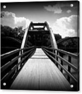The Bridge Acrylic Print by Trina Prenzi