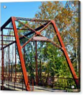 The Bridgetone Bridge Acrylic Print