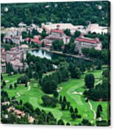 The Broadmoor Resort Acrylic Print