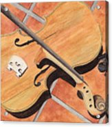The Broken Violin Acrylic Print