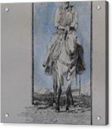 The Buckskin Colt Acrylic Print