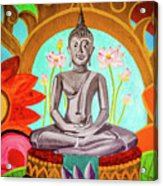 The Buddha Acrylic Print